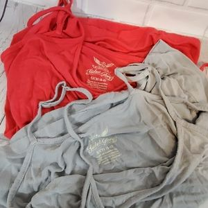 Faded Glory camis bundle size small
